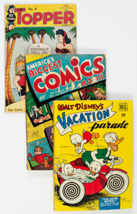 Golden Age Humor Comics Group of 7 (Various Publishers, 1944-62) Condition: GD.... (Total: 7 Comic Books)