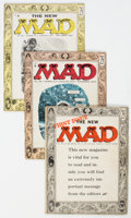 Magazines:Mad, MAD #24-26 Group (EC, 1955) Condition: Average VG.... (Total: 3 Comic Books)