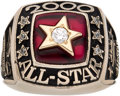 Baseball Collectibles:Others, 2000 Major League Baseball All-Star Game Lady's Ring - American League....