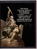 Books:First Editions, Berni Wrightson: A Look Back Signed, Limited, Numbered, Slipcase Edition #238/250 (Land of Enchantment, 1979)....