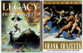 Books:Signed Editions, Frank Frazetta Legacy and Testament Signed Limited Numbered Slipcase Editions (Underwood Books, 1999-2... (Total: 2 Items)