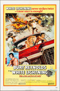 "Movie Posters:Action, White Lightning (United Artists, 1973). Folded, Fine/Very Fine. One Sheet (27"" X 41""). Tom Jung Artwork. Action.. ..."