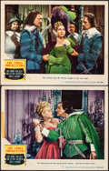 "Movie Posters:Swashbuckler, The Three Musketeers (MGM, 1948). Overall: Fine/Very Fine. Lobby Cards (2) (11"" X 14""). Swashbuckler.. ... (Total: 2 Items)"