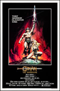 "Movie Posters:Action, Conan the Barbarian (Universal, 1982). Rolled, Very Fine/Near Mint. One Sheet (27"" X 41""). OS: Renato Casaro Artwork. Action..."