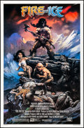 """Movie Posters:Animation, Fire and Ice (20th Century Fox, 1983). Rolled, Near Mint. One Sheet (27"""" X 41"""") Frank Frazetta Artwork. Animation.. ..."""