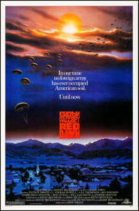 "Red Dawn (MGM, 1984). Rolled, Very Fine. One Sheet (27"" X 41""). John Alvin Artwork. Action"