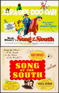 "Movie Posters:Animation, Song of the South (RKO/Buena Vista, 1946/R-1972). Very Fine. Title Lobby Cards (2) (11"" X 14""). Animation.. ... (Total: 2 Items)"