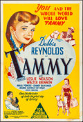 """Movie Posters:Romance, Tammy and the Bachelor & Other Lot (Universal International, 1958). Folded, Overall: Very Fine-. Australian One Sheet (27"""" X... (Total: 2 Items)"""