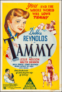 Tammy and the Bachelor & Other Lot (Universal International, 1958). Folded, Overall: Very Fine-. Australian One Shee...
