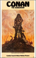 """Movie Posters:Action, Conan the Barbarian (20th Century Fox, 1980). Rolled, Near Mint. Poster (22"""" X 36"""") SS, Advance. Frank Frazetta Artwork. Act..."""