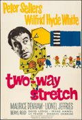 "Movie Posters:Comedy, Two-Way Stretch (Lion International , 1960). Folded, Fine/Very Fine. British One Sheet (27"" X 40""). Comedy.. ..."