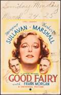 """Movie Posters:Comedy, The Good Fairy (Universal, 1935). Very Good-. Window Card (14"""" X 22""""). Comedy.. ..."""