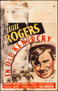 """Movie Posters:Comedy, In Old Kentucky (Fox, 1935). Fair/Good. Window Card (14"""" X 22""""). Comedy.. ..."""