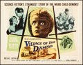 "Movie Posters:Science Fiction, Village of the Damned (MGM, 1960). Flat Folded, Fine/Very Fine. Half Sheet (22"" X 28""). Science Fiction.. ..."