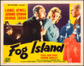 "Movie Posters:Mystery, Fog Island (PRC, 1945). Rolled, Fine/Very Fine. Half Sheet (22"" X 28""). Mystery.. ..."