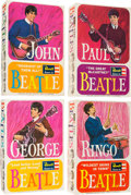 Music Memorabilia:Memorabilia, The Beatles Complete Set of Four Revell Model Kits (NEMS, 1964). ... (Total: 4 Items)
