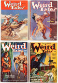 Pulps:Horror, Weird Tales Group of 14 (Popular Fiction, 1933-53) Condition: Average VG.... (Total: 28 Items)