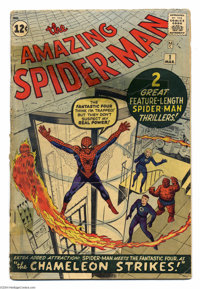 The Amazing Spider-Man #1 (Marvel, 1963) Condition: FR/GD. Key Silver Age Marvel. Spider-Man's origin is retold. First F...