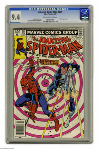 The Amazing Spider-Man #201 (Marvel, 1980) CGC NM 9.4 Off-white to white pages. The Punisher appears. John Romita Sr. co...