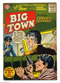 Silver Age (1956-1969):Mystery, Big Town #41 (DC, 1956) Condition: FN/VF. Gil Kane cover art.Overstreet 2004 FN 6.0 value = $27; VF 8.0 value = $54....