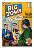 Silver Age (1956-1969):Mystery, Big Town #42 (DC, 1956) Condition: FN/VF. Gil Kane cover art. BrownEdges. Overstreet 2004 FN 6.0 value = $27; VF 8.0 value ...