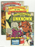 Silver Age (1956-1969):Adventure, Challengers of the Unknown Group (DC, 1961-65). This group includes #18, 20, 22, 31, 33, 34, 35, 36, 37, 38, and 43. Issues ... (Total: 11 Comic Books Item)
