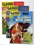 Golden Age (1938-1955):Classics Illustrated, Classics Illustrated Group (Gilberton, 1944-48). This groupcontains issues #18 (HRN 118) featuring The Hunchback of Notre...(Total: 6 Comic Books Item)