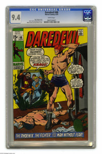 Daredevil #68 (Marvel, 1970) CGC NM 9.4 White pages. Marie Severin and Syd Shores cover. Gene Colan art. Overstreet 2004...