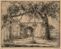 Fine Art - Work on Paper, Blanche McVeigh (American, 1895-1970). Untitled. Etching and aquatint on paper. 7 x 8-3/4 inches (17.8 x 22.2 cm) (image...