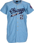 Autographs:Bats, 1967 Smoky Burgess Game Worn Chicago White Sox Jersey....