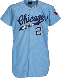 1967 Smoky Burgess Game Worn Chicago White Sox Jersey