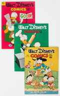 Golden Age (1938-1955):Cartoon Character, Walt Disney's Comics and Stories Group of 8 (Dell, 1949-64).... (Total: 8 Comic Books)