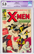 Silver Age (1956-1969):Superhero, X-Men #1 (Marvel, 1963) CGC Apparent VG/FN 5.0 Slight (B-1) Off-white to white pages....