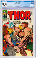 Silver Age (1956-1969):Superhero, Thor #126 (Marvel, 1966) CGC NM 9.4 White pages....