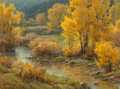 Fine Art - Painting, American, Clyde Aspevig (American, b. 1951). Between Showers. Oil on canvas. 30 x 40 inches (76.2 x 101.6 cm). Signed lower left: ...