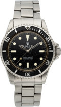 Timepieces:Wristwatch, Rolex, Oyster Perpetual Submariner, Ref. 5513, circa 1968, For Restoration. ...