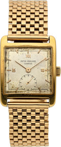 Timepieces:Wristwatch, Patek Philippe, Ref. 2433, Manual Wind, 18k Gold, Circa 1955. ...