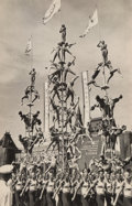 Photographs:Gelatin Silver, Georgy Zelma (Russian, 1906-1984). Physical Cultural Demonstration, 1938. Gelatin silver. 8-7/8 x 6 inches (22.5 x 15.2 ...