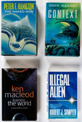 Books:Hardcover, Assorted Science Fiction Hardcover Volumes Box Lot (Various, 1990s-2000s).... (Total: 2 Items)