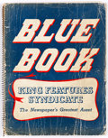 Memorabilia:Comic-Related, King Features Syndicate 1949 Blue Book (King Features Syndicate, 1949) Condition: GD....