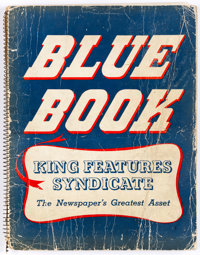 King Features Syndicate 1949 Blue Book (King Features Syndicate, 1949) Condition: GD