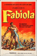 "Movie Posters:Foreign, Fabiola (United Artists, 1951). Folded, Very Fine-. One Sheet (27"" X 41""). Foreign.. ..."