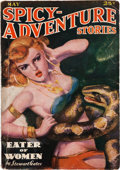 Pulps:Horror, Spicy Adventure Stories -May 1937 (Culture) Condition: VG....