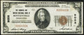 National Bank Notes:Pennsylvania, Bentleyville, PA - $20 1929 Ty. 1 The Farmers & Miners National Bank Ch. # 9058 Very Fine-Extremely Fine.. ...
