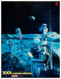 """Movie Posters:Science Fiction, 2001: A Space Odyssey (MGM, 1968). Fine/Very Fine. Cinerama Lenticular Tabletop Standee (10.5"""" X 13.75"""") Moonbase Style.. ..."""