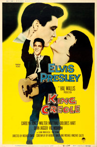 "King Creole (Paramount, 1958). Rolled, Fine/Very Fine. Poster (40"" X 60"") Style Y"
