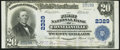 National Bank Notes:Pennsylvania, Connellsville, PA - $20 1902 Plain Back Fr. 658 The First National Bank Ch. # 2329 Very Fine-Extremely Fine.. ...