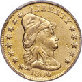 Early Quarter Eagles, 1806/4 $2 1/2 8x5 Stars, BD-1, High R.4 -- Surfaces Smoothed -- PCGS Genuine. XF Details....