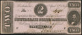 Confederate Notes:1863 Issues, T61 $2 1863 PF-7 Cr. 473 Crisp Uncirculated.. ...