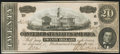 Confederate Notes:1864 Issues, T67 $20 1864 PF-11 Cr. 511 Choice Crisp Uncirculated.. ...